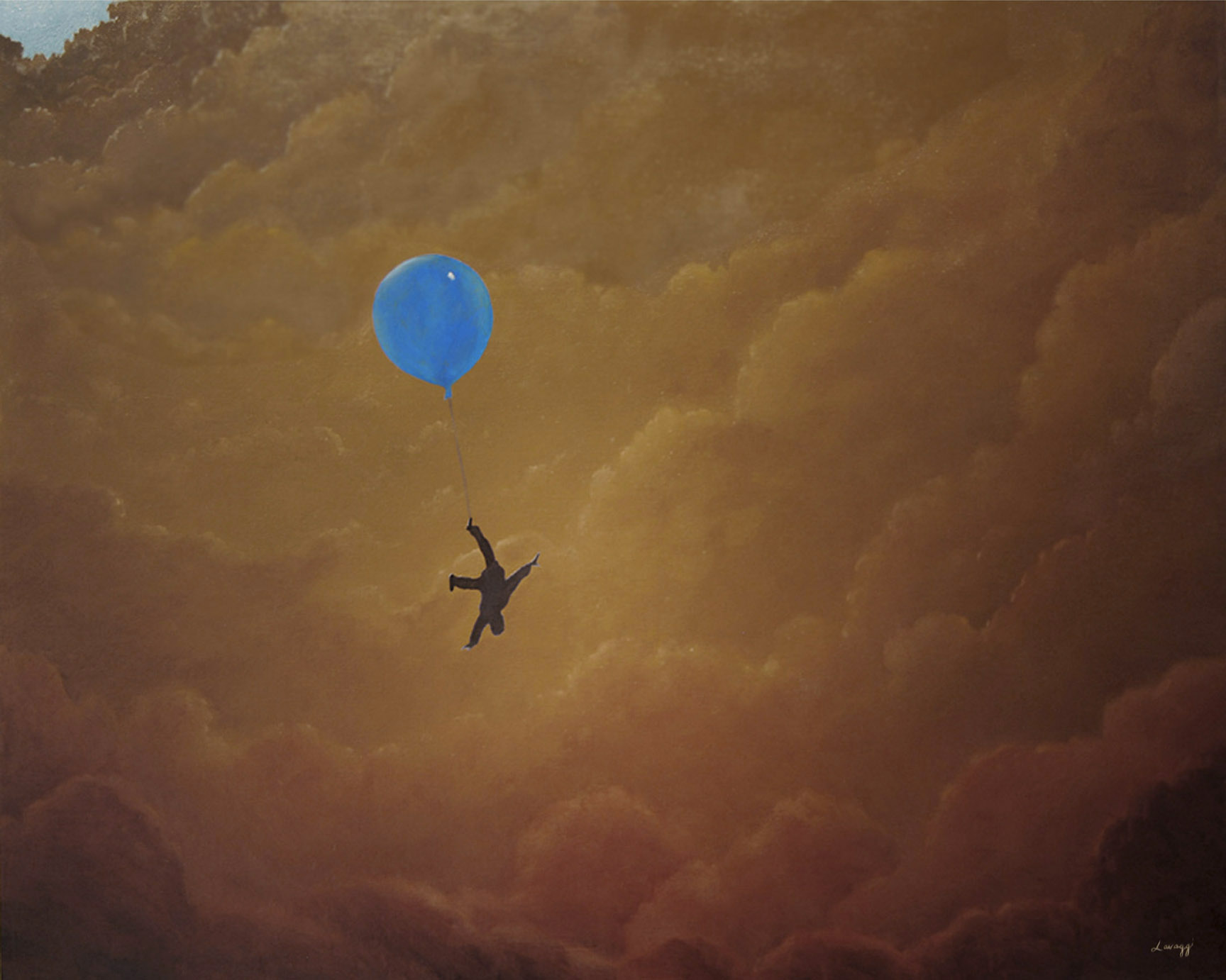 Steven Lavaggi's Once on a Blue Balloon
