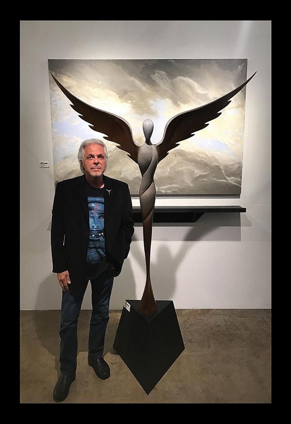 Steven Lavaggi's 7' Bronze Sculpture