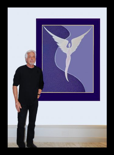 Steven Lavaggi's ORIGINAL ANGEL PAINTING